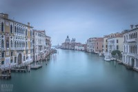 Venice from Ponte dell'Accademia on New Year's Day