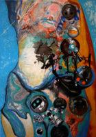 CyberMother 200x140cm canvas oil 2016.jpg