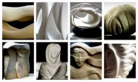 fig/abstract sculptures