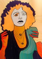 Marvelous Edith Piaf 100x73