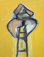 Alone 162x100cm acrylic on canvas